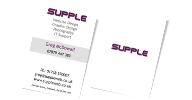 Supple Business Card